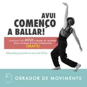 Activitats i dansa gratuïtes Festa Major | Obrador de Moviments