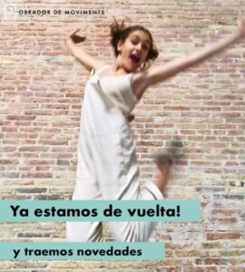 Matricula Abierta Escuela de Danza Barcelona | Obrador de Moviments