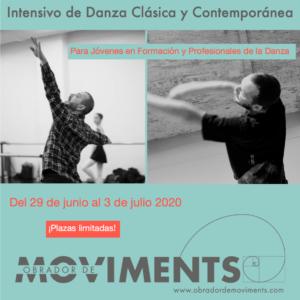 Intensiu De Dansa Clàssica IDansa Contemporània