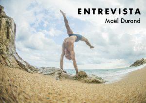 Maël Durand, professor d'acrobàcia | Obrador de moviments