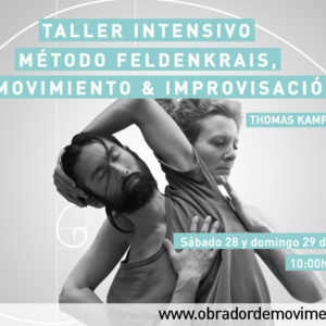 Intensiu Mètode Feldenkrais, Moviment & Improvisació