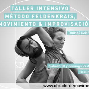 Intensivo: Método Feldenkrais, Movimiento & Improvisación